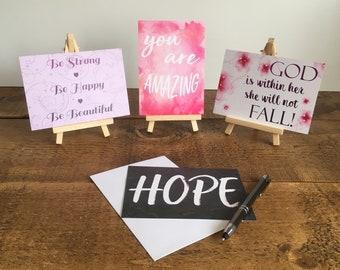Encouraging Postcards - bible verses & encouraging messages!