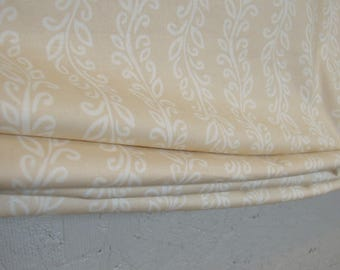 Ready-made Climbing Vines Relaxed Roman Shade, Organic Cotton, 33 3/4 x 68 1/2, Window Treatment