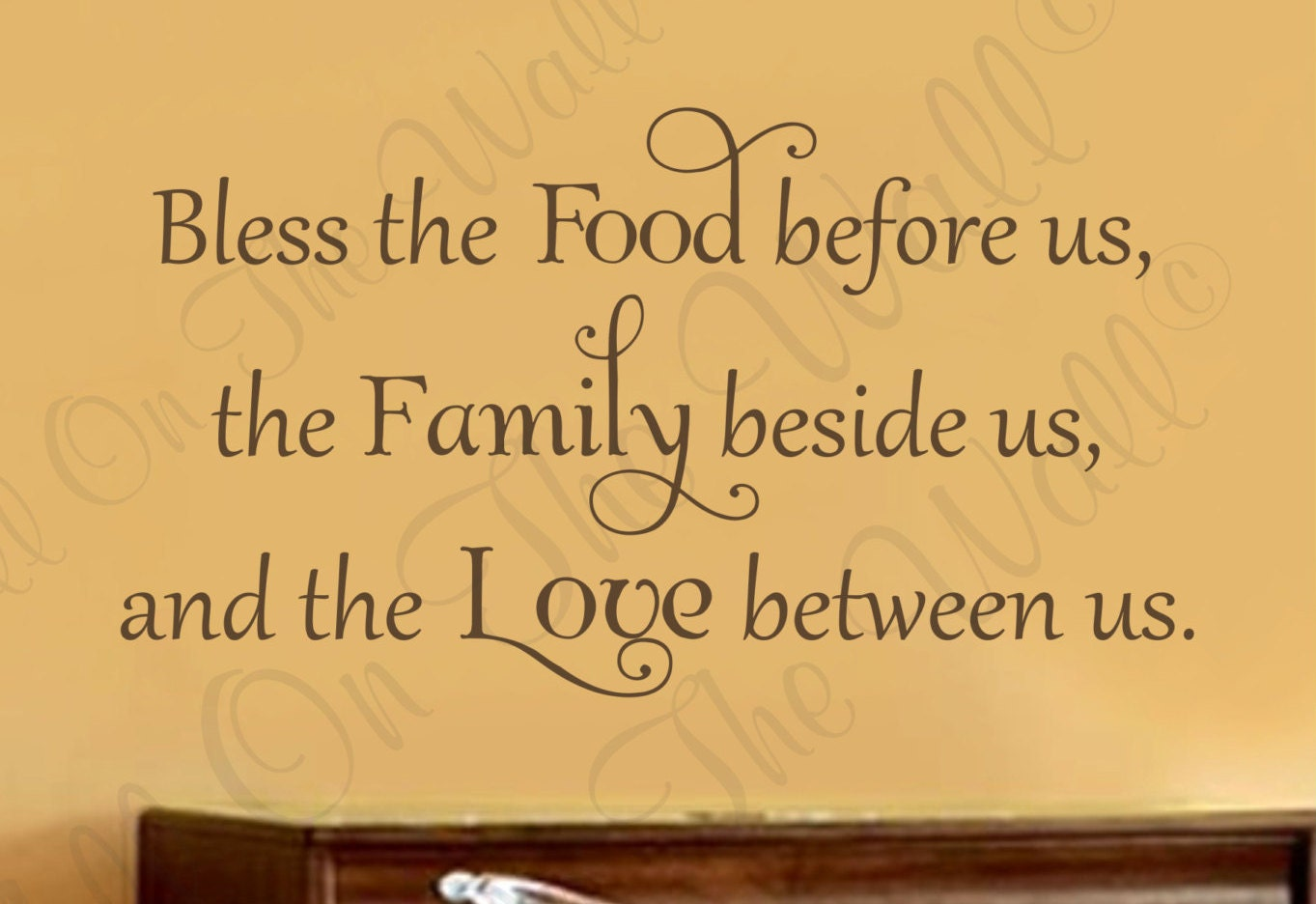 Unique Kitchen Blessing Wall Decor Gift - Wall Art Collections ...