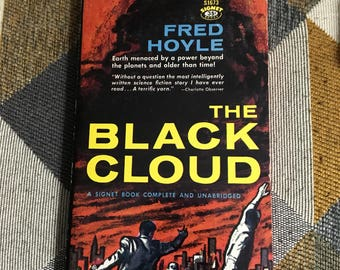 Vintage 1959 The Black Cloud Fred Hoyle Paperback Book