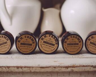 Organic unrefined Shea Butter Bar/Salve