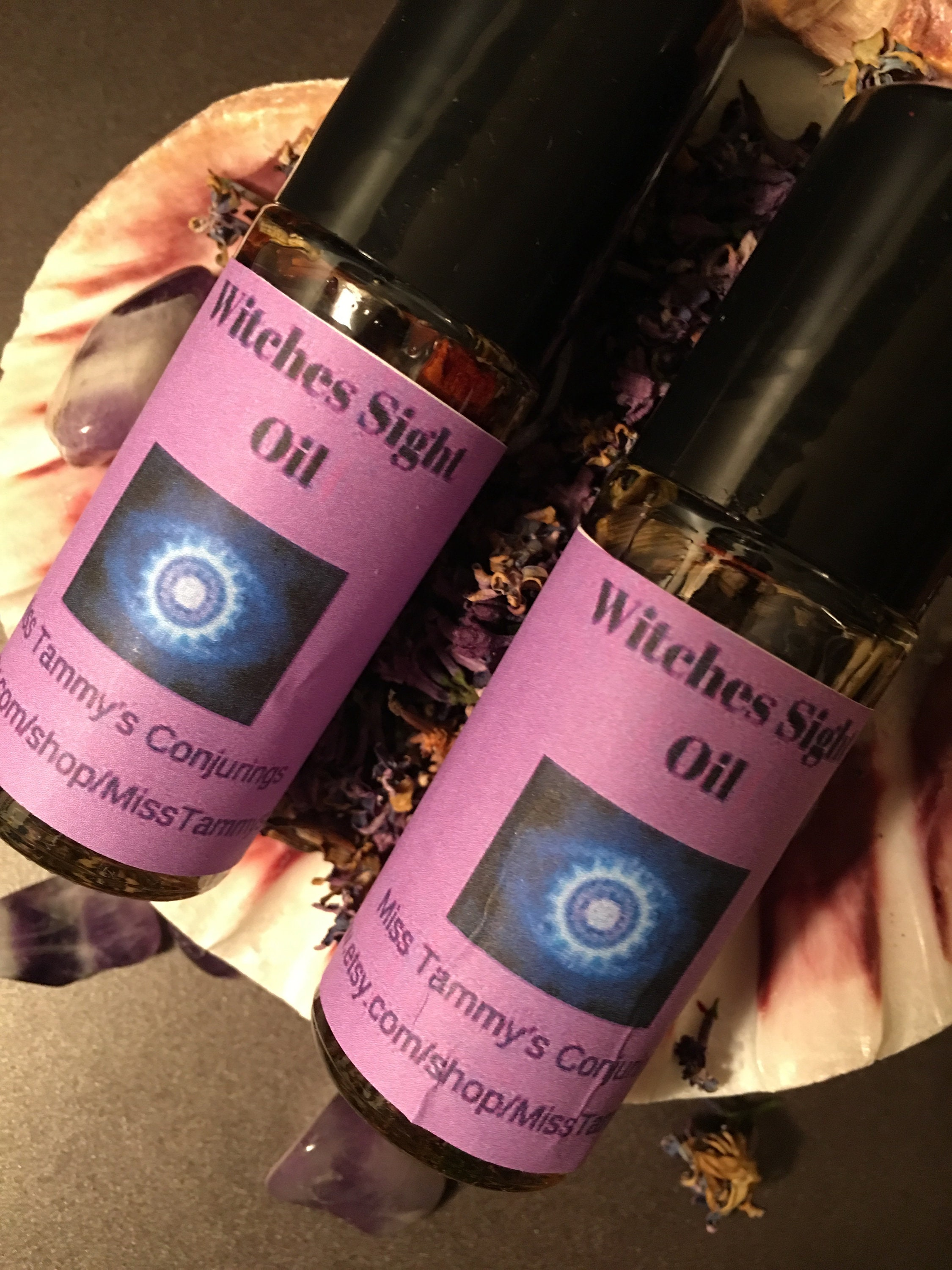 Witches Sight Perfume Witch\'s Sight Conjure Oil HooDoo