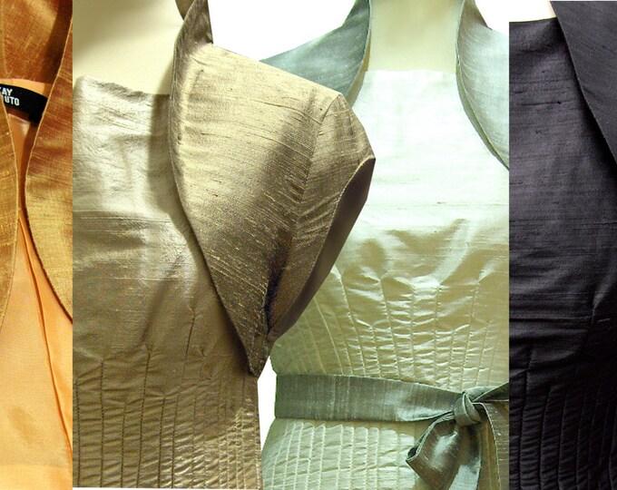 """Silk bolero short sleeves """"Capsleeve"""" color choice"""