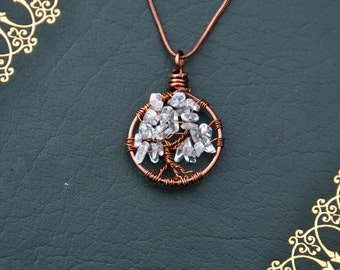 Custom Copper Tree of Life Necklace