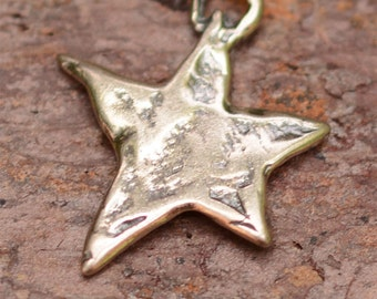 Dancing Star Sterling Silver Charm