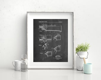 Toothpaste Cap With Toothbrush Holder Patent Poster, Bathroom Wall Art, Dentist Office Decor, Brush Your Teeth Print, Dental Artwork, PP1260