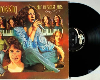Carole King - Her Greatest Hits (1978) Vinyl LP  PROMO  Best of