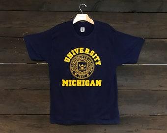 Vintage 80s University of Michigan Tee