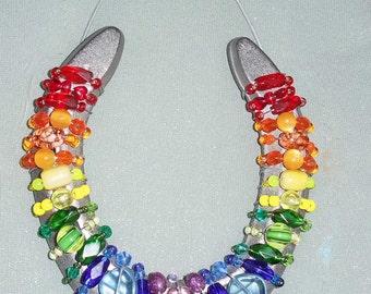 Lucky Rainbow Horseshoe
