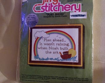 "Sunset Designs Jiffy Stitchery Kit ""Plan Ahead"""