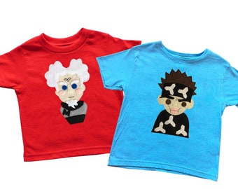 I am The Supermodel! - Zoolander & Mugatu Inspired Kids Tee Combo - Birthday Gift