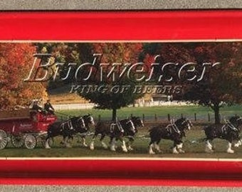 "1998 Ltd Edition Budweiser ""Autumn Clydesdale's"