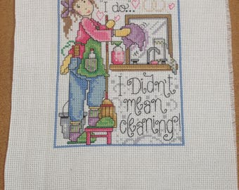 Finished Cross Stitch