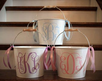 Personalized Easter Bucket // Easter Basket // Monogrammed Easter