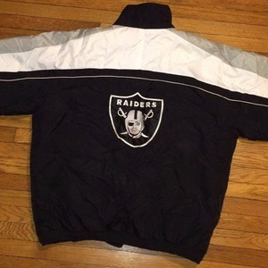 Oakland RAIDERS jersey, vintage NFL t-shirt CMP Los Angeles, nwa old school black shirt 90s hip-hop clothing, 1990s streetwear size M Medium
