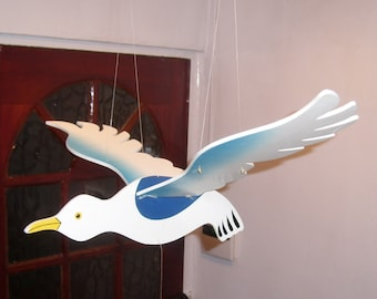 Vintage Seagull mobile