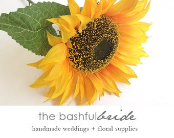 3 sizes sunflower, giant, silk flower, sunflower wedding, sunflower decor, sunflower bouquet, sunflower centerpiece, photo prop