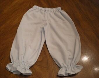 long bloomers, long pants