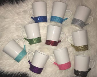 Glitter Coffee Mugs