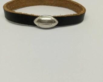 Leather Bracelet genuine rugby