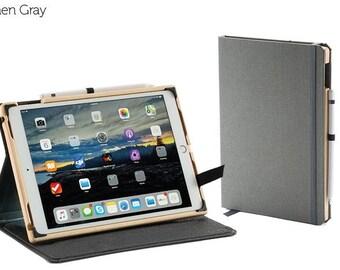 The Contega Linen Case for iPad Pro 10.5 - Linen Gray
