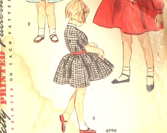 1950's Girl's Party Dress Size 6