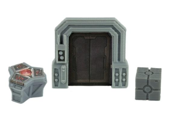 Like this item?  sc 1 st  Etsy & Star Wars Imperial Assault Custom Door Terminal \u0026 Crate