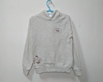 SUMIKKO GURASHI Konna Ouchini Sumitaina Big Logo Spell Out Gray Color Hoodie Sweatshirt