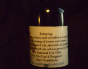 Relaxing Massage oils 2oz