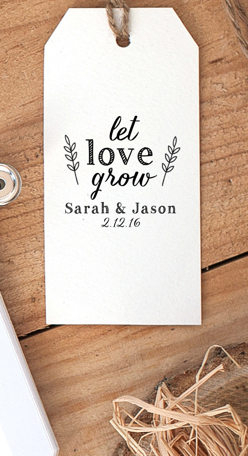 Seed Packets Wedding Favor seed packet and personalised tag favour ...