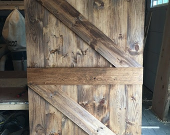 Custom Rustic Barn Door