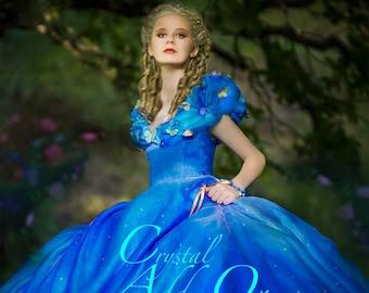 Crystal Add-on -- Adult and teen Cinderella Costume 2015 Swarovski Crystal Add-on