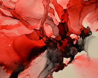 Peace: Abstract Alcohol Ink Art