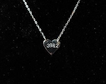 Fairytale Section 398.2 Dewey Decimal Necklace