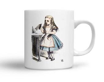 Drink Me - Alice in Wonderland - Alice in Wonderland Coffee Mug - Alice in Wonderland Drink Me Mug - Gift for Alice in Wonderland Fan