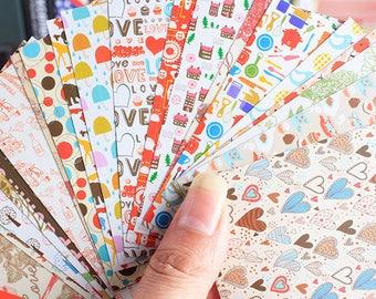 20 Sheets Photo Film Stickers - Deco Sticker - Diary Sticker - Paper Sticker - Filofax - Ver 2