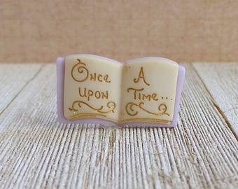 Fairy Tale - Once Upon A Time - Storybook - Fantasy - Make Believe - Lapel Pin