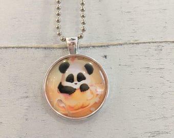 Baby panda pendant