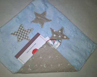Handmade flat plush 22 x 20 soft