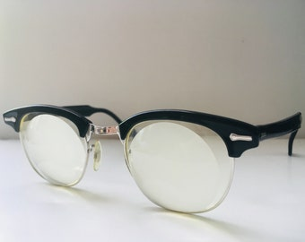 Vintage 1950s Buddy Holly Horn-Rimmed Eyeglasses
