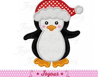 Sofortiger Download Weihnachten Pinguin Applique Stickerei Design NO: 2237