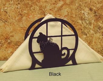 Cat Napkin Letter Holder