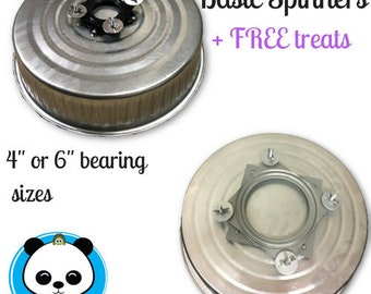 "The Original 4"" or 6"" Bearing Basic Wheels- FREE Treats- Pandamonium Pets"