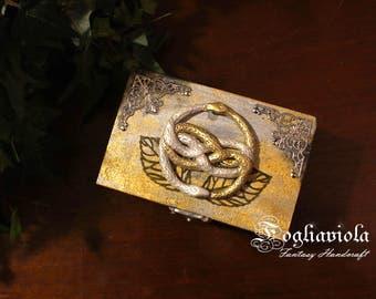 Auryn box The Infinite story snake Ouroboros geek nerd Atreyu medallion with snakes jewelry gift IDEA