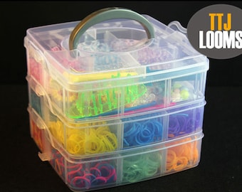 loom DIY kit three layer monster tail kit 3000 rubber bands