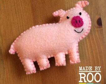 Barnyard Babies Magnets - Pig