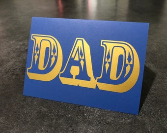 DAD - Father's Day Card