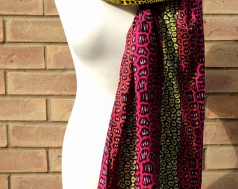 African print  headwrap, Ankara scarf, African Headtie, African Clothing, Women's Accessories, Women's Clothingb