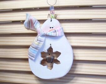 Holiday Snowman Ornie