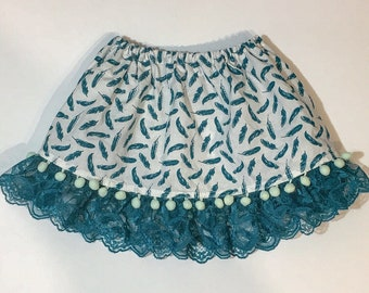 Light as a feather skirt toddler/baby